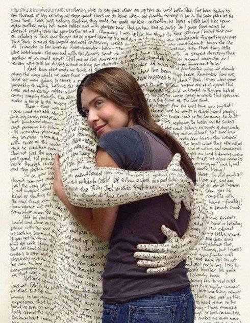 book hug