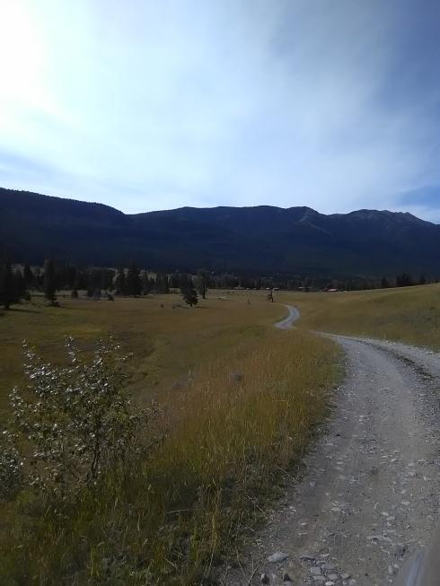Approaching Sweet Grass Ranch